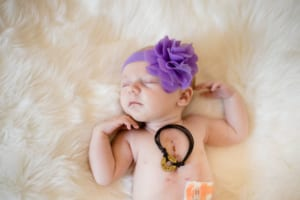 Mazie's First Year HLHS Warrior | Fort Collins Kids Photographer
